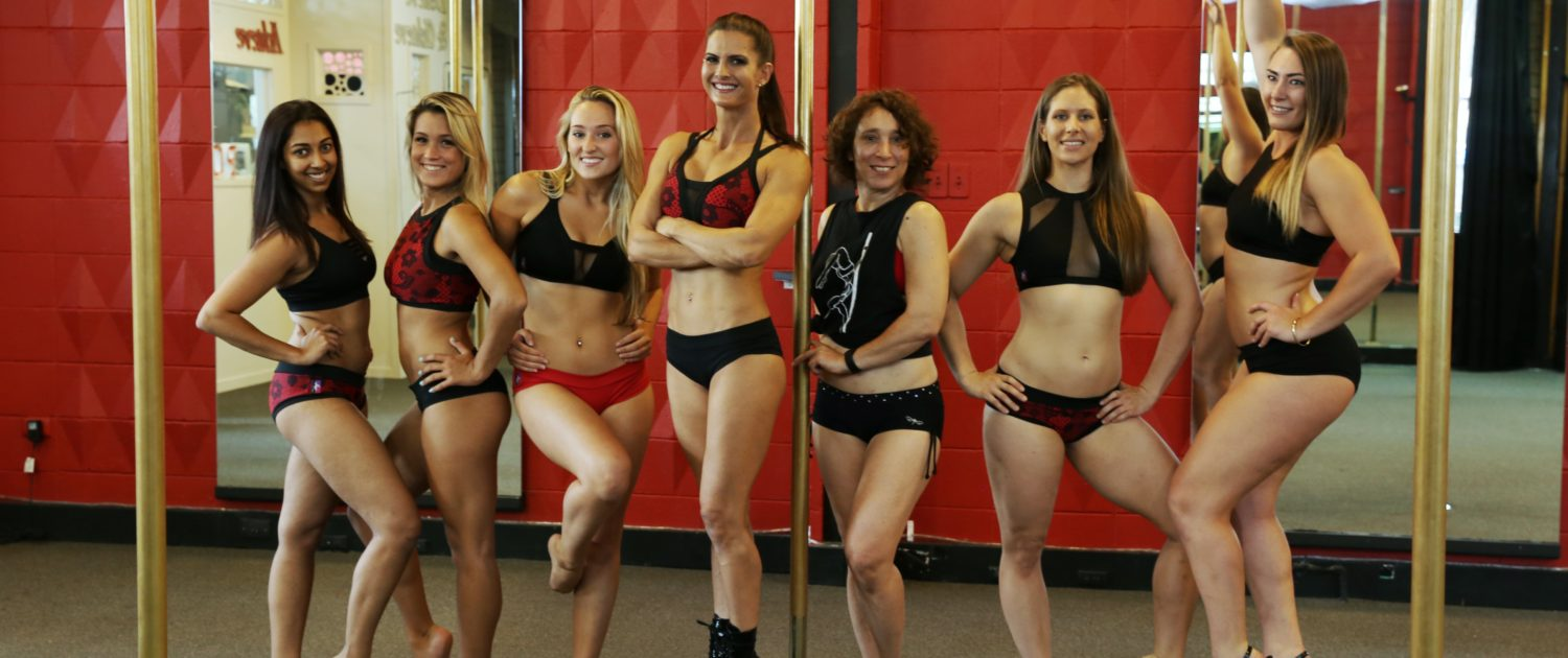 Achieve Pole Studio pole dance instructors